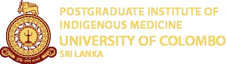 Postgraduate Institute of Indigenous Medicine   University of Colombo